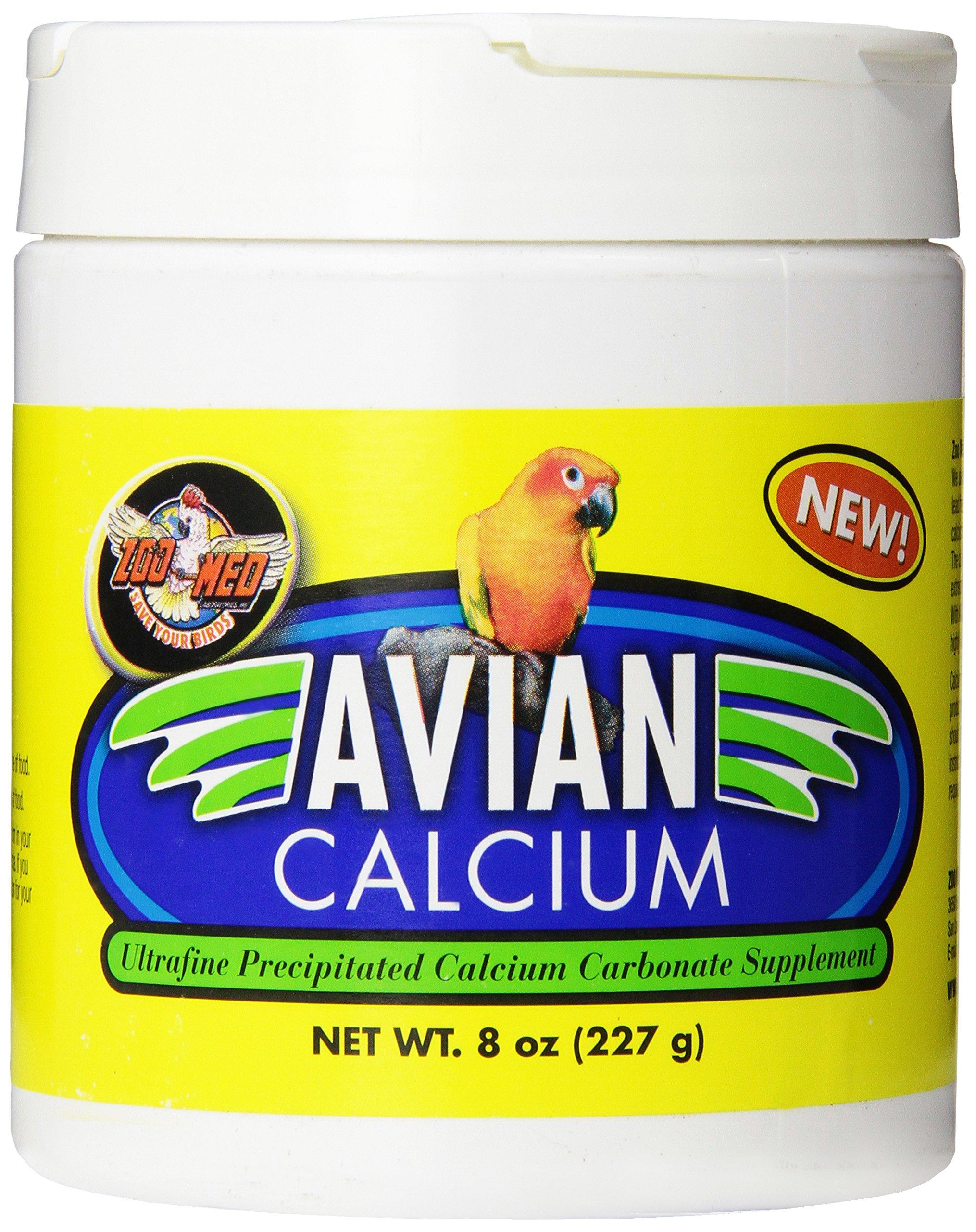 Zoo Med Avian Calcium Bird Food, 8-Ounce