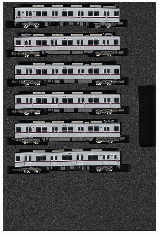 グリーンマックス Nゲージ 4685 東武10030型 リニューアル車 東上線 開業100周年記念ロゴマーク付き 基本6両編成セット (動力付き) (塗装済完成品) B00RGEON4M