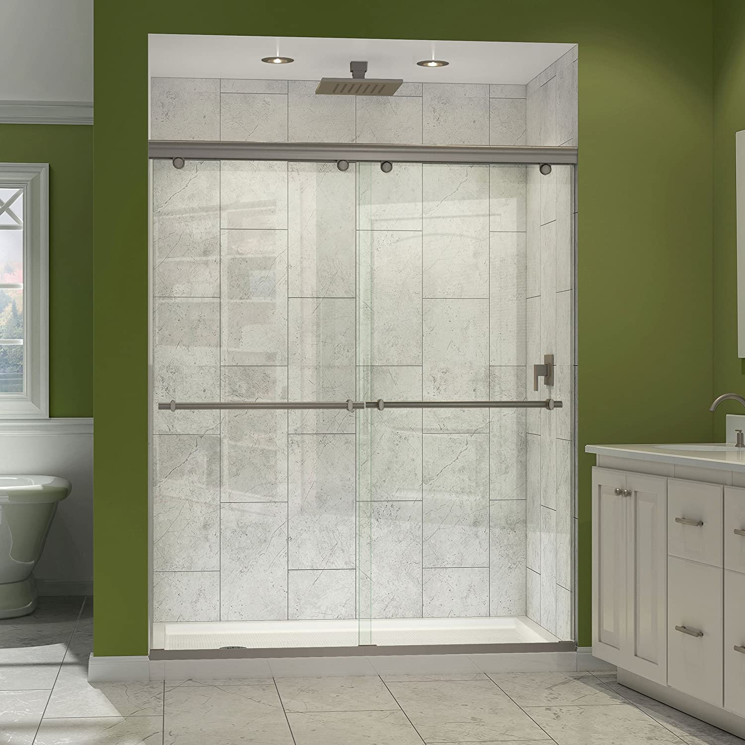 Dreamline Charisma 56 60 In Width Frameless Bypass Sliding Shower