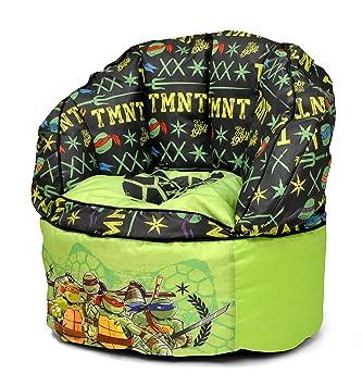 Nickelodeon Teenage Mutant Ninja Turtles Toddler Bean Bag Chair Green