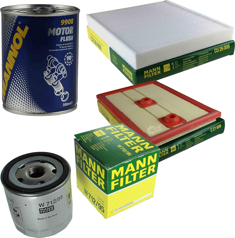 Original MANN-Filter Inspektionspaket Set SCT Motor Flush Motorsp/ülung 11581149