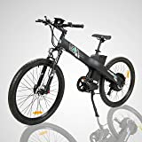 "26"" Electric Bike 2018 Update 750W 48V/12AH Electric Mountain Bicycle with Shimano 7 Speeds LED DISPLAY Lithium Battery"