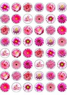 Assortiment De 30 Roses En Papier Comestible Pour Decoration De