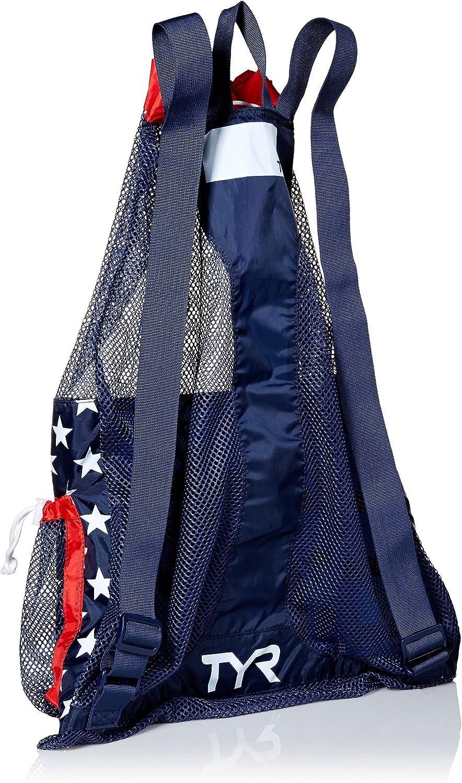 TYR Unisexs Big Mesh Mummy Backpack Bag