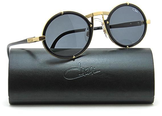 e2ff9865d7e8 Amazon.com  Cazal 644 Vintage Unisex Round Sunglasses 001 - Black w Gold