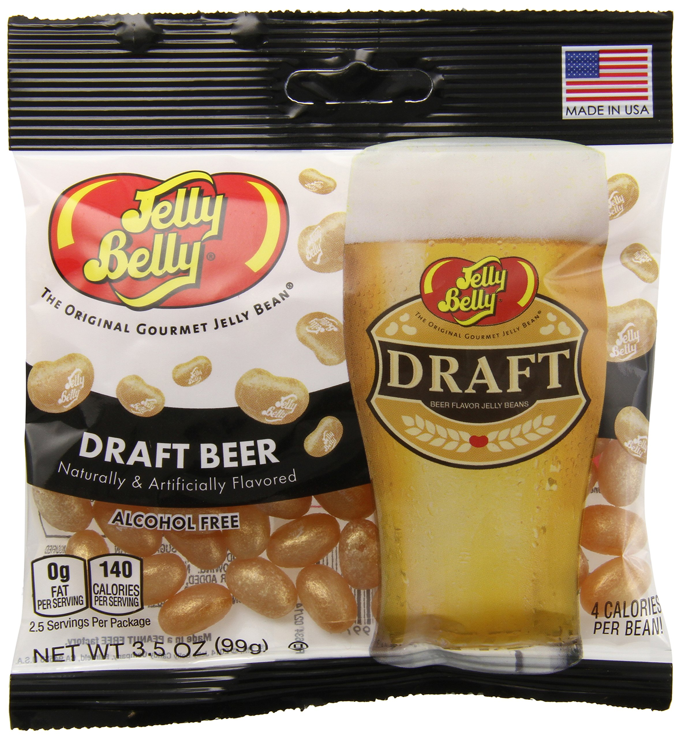 Jelly Belly Draft Beer Jelly Beans, 3.5-oz, 12 Pack by Jelly Belly