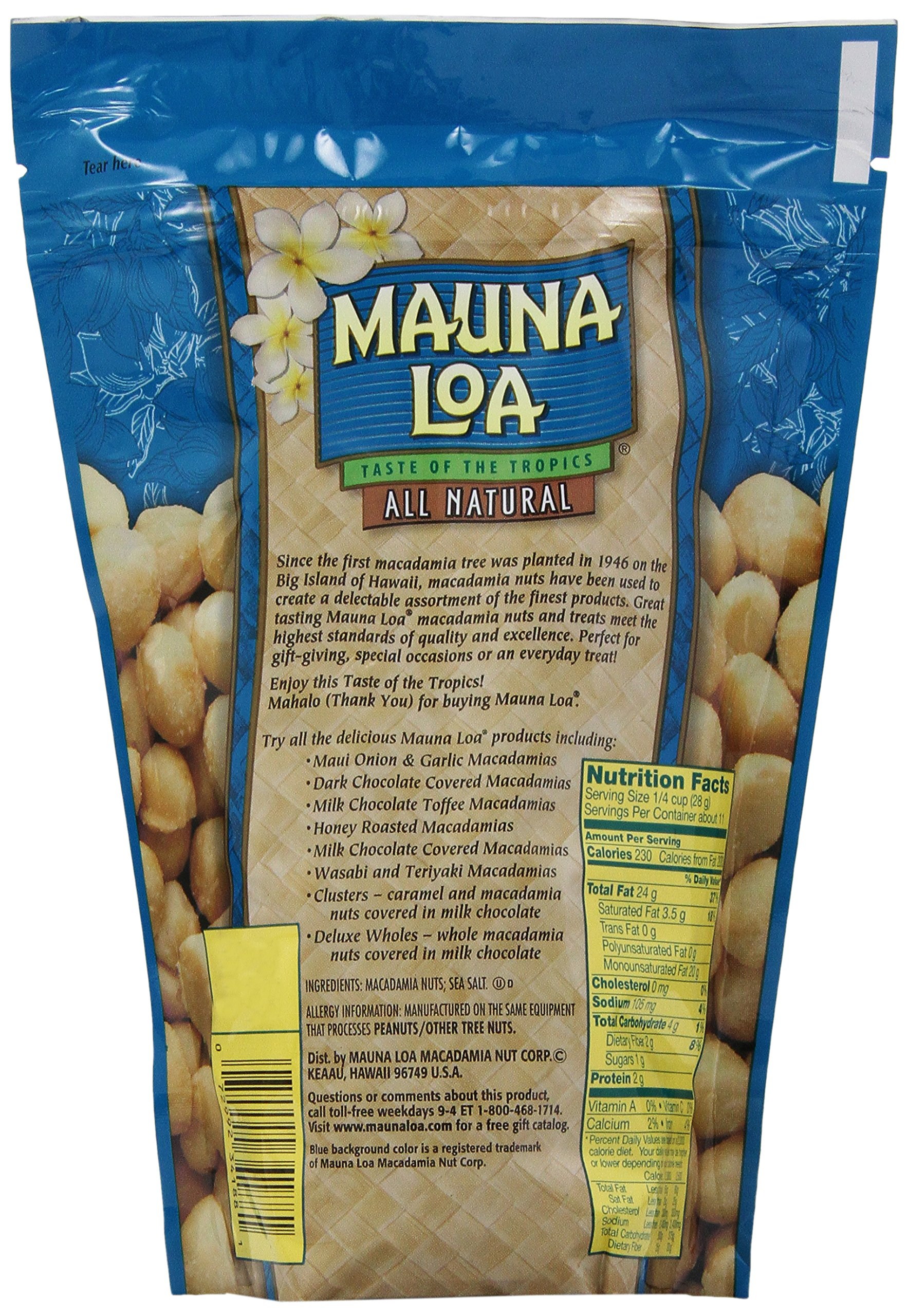Mauna Loa Macadamias, Dry Roasted with Sea Salt, 11-oz. by Mauna Loa (Image #4)