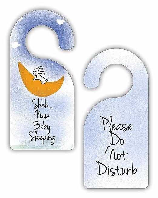 Amazon.com: Shhh nuevo bebé dormir – por favor no molestar ...