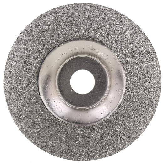 "100 Mm 4/"" Inch Diamond Coated Waveform Convex Grinding Disc Wheel Grit 150 Arbor"
