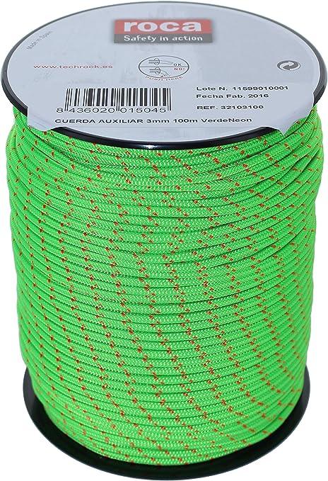 FixeRoca Cuerda Auxiliar 3 mm - Cuerda Escalada Auxiliar ...