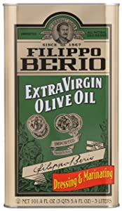 Filippo Berio Extra Virgin Olive Oil, 101.4 Fl Oz
