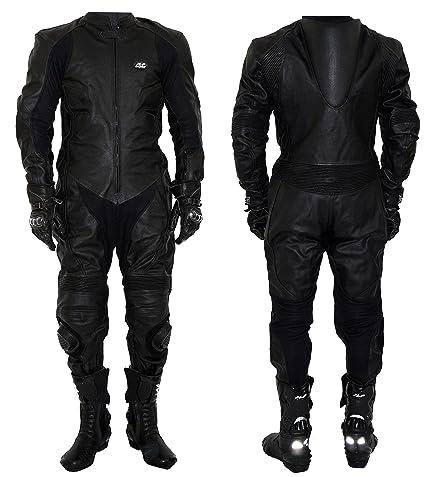 Mono de motociclismo, de piel, para pista de carreras JLP ...