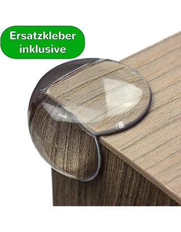 Kindersicherungen 8x Tischkantenschutz Kinder Eckenschutz Kantenschutz Kantensicherung Glastisch