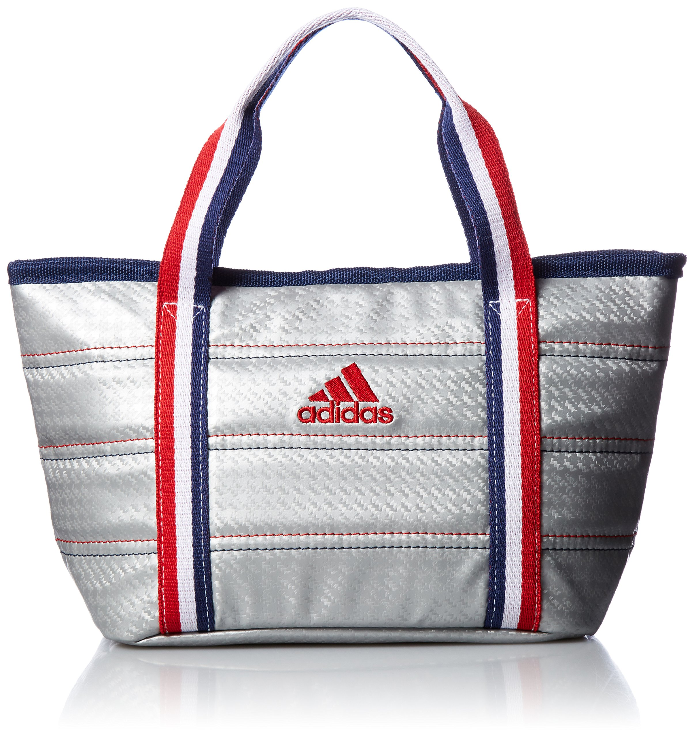 [Adidas Golf] Round Tote Bag L23 × W18 × H13 cm AWT 28 A 42076 Silver by adidas (Image #1)