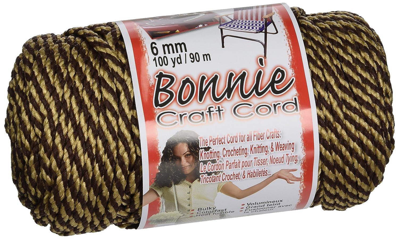 Bonnie craft cord 6mm - Best Bonnie Macrame Craft Cord 6mm 100yd Brownie