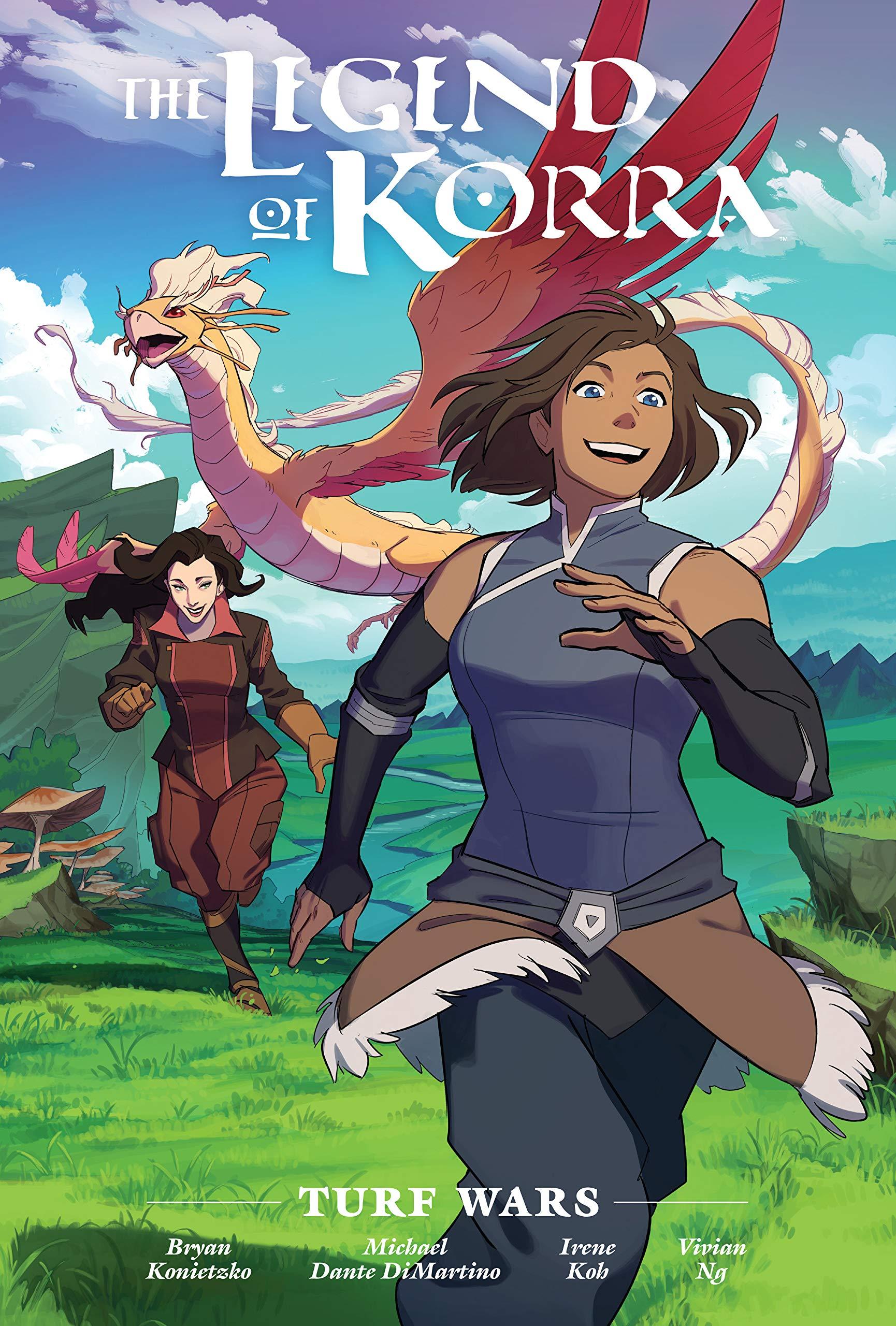 Amazon.fr - The Legend of Korra: Turf Wars Library Edition - DiMartino, Michael Dante, Konietzko, Bryan, Fish, Veronica, Koh, Irene - Livres