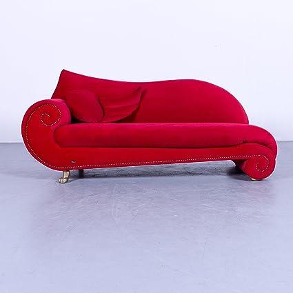 Bretz Gaudi Diseñador Sofá Rojo Terciopelo plástico Chaise ...