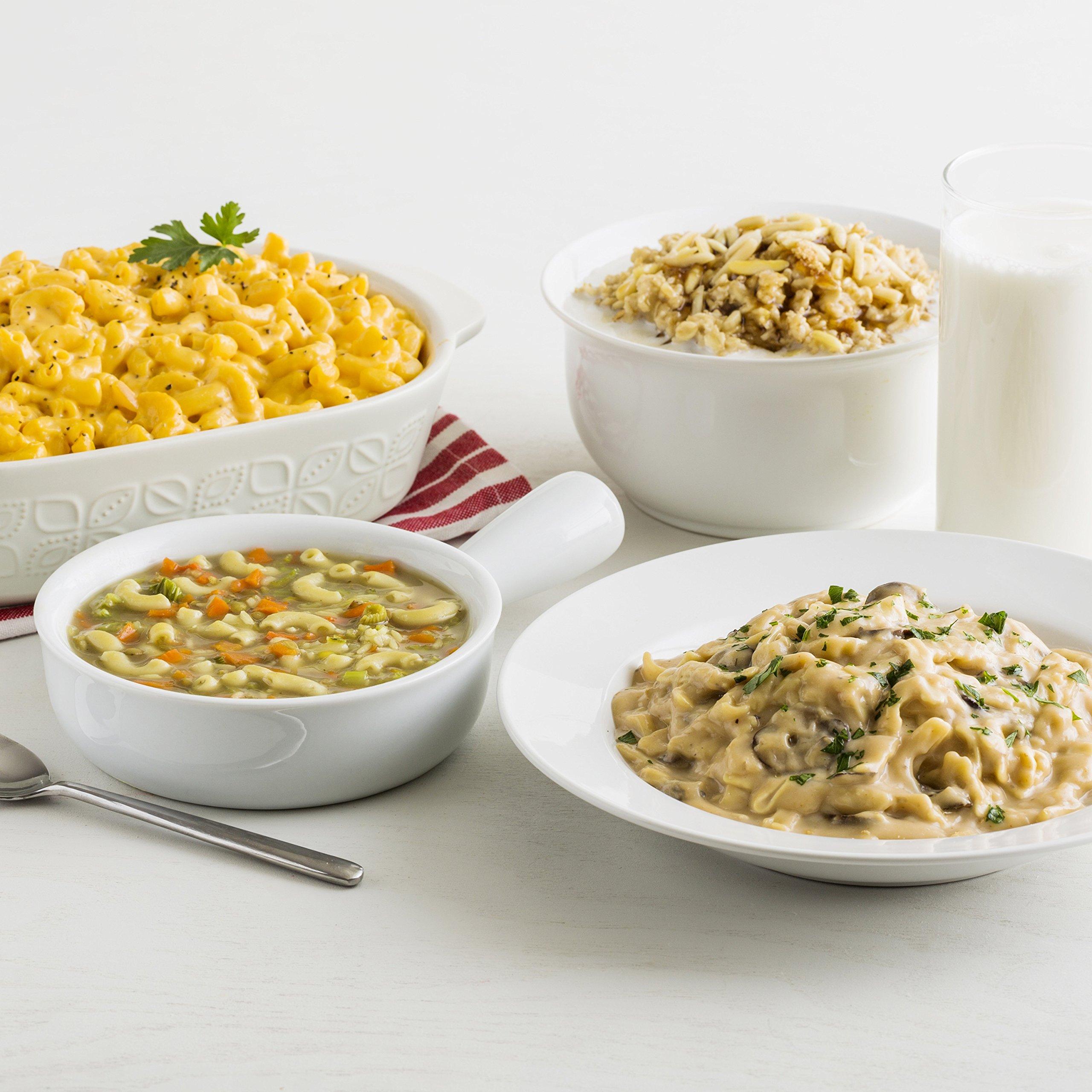 Augason Farms Breakfast & Dinner Variety Emergency Food Supply 7 lbs 5.21 oz 4 Gallon Pail by Augason Farms (Image #4)