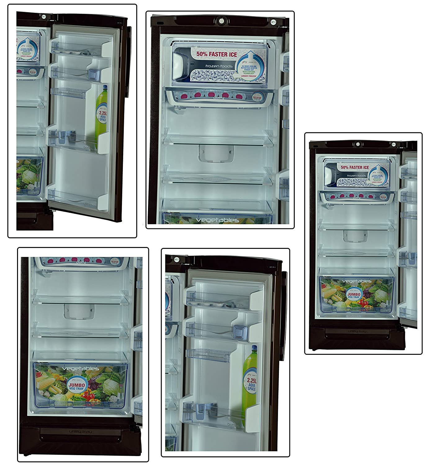 Godrej 190 L 3 Star Direct Cool Single Door Refrigerator(Rd
