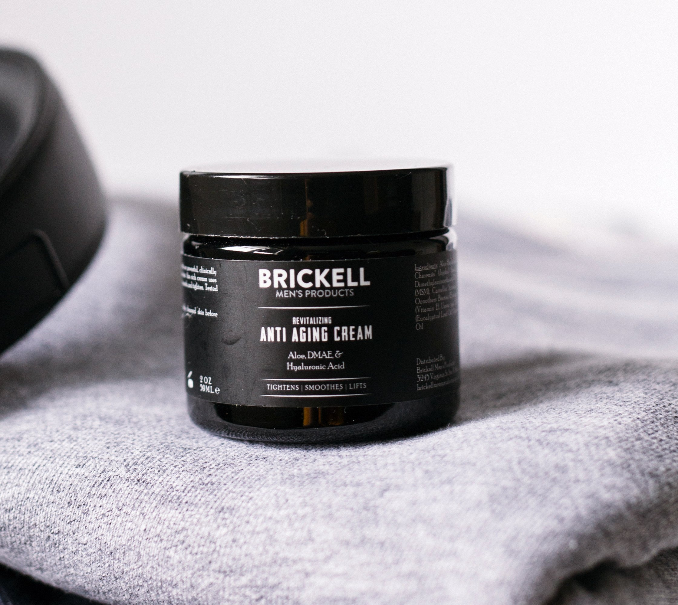 Brickell Men's Revitalizing Anti-Aging Cream For Men, Natural and Organic Anti Wrinkle Night Face Cream To Reduce Fine Lines and Wrinkles, 2 Ounce, Scented by Brickell Men's Products (Image #3)