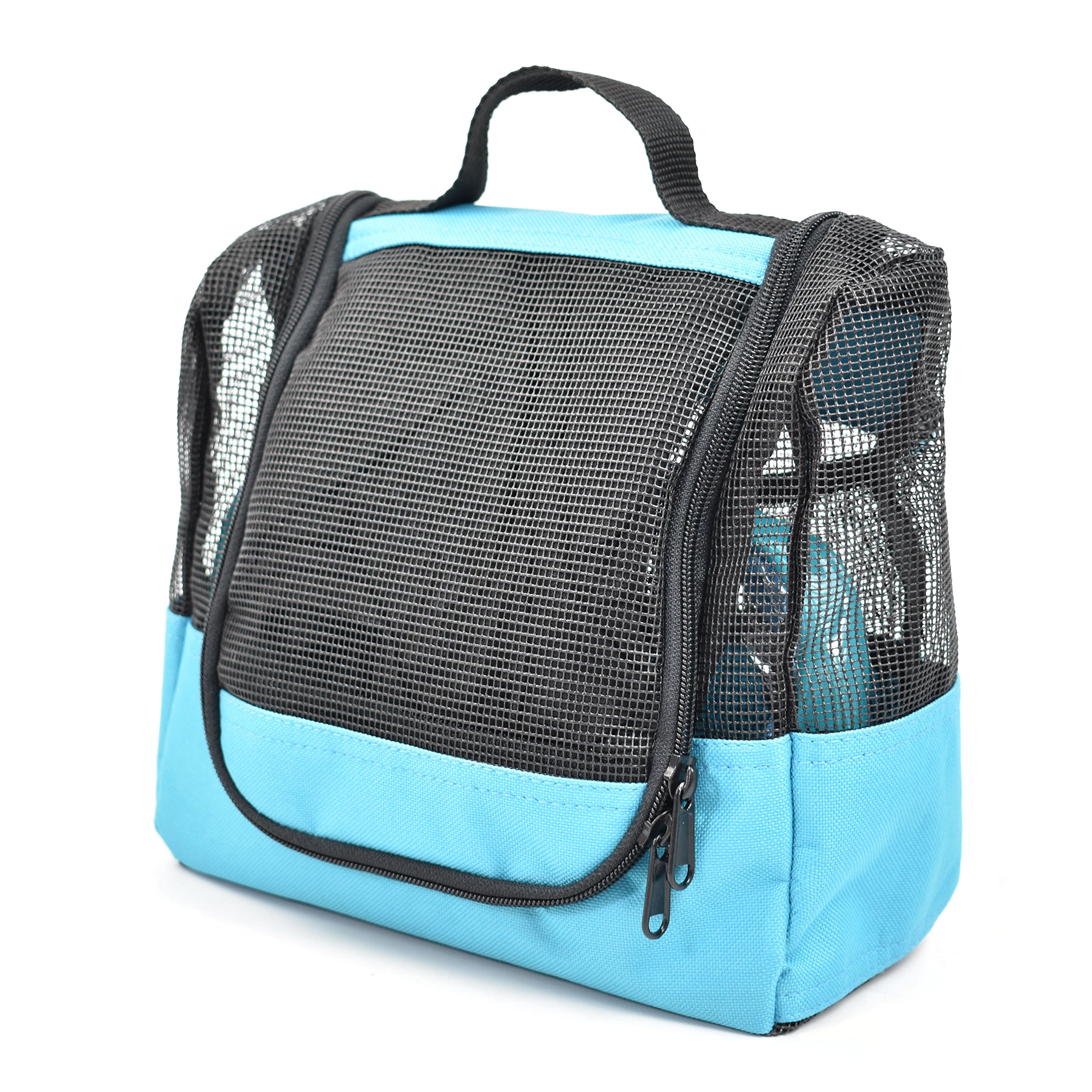 Shower Caddy Case Organizer Tote to Hang in the Shower plus Free Toiletries Bag - by The Fine Living Co USA