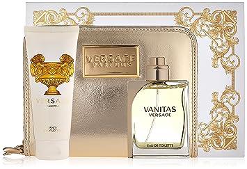 457487d9ce53 Amazon.com   Versace Vanitas Eau de Toilette Spray Gift Set for Women