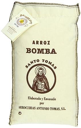 Santo Tomas Bomba Arroz 2.2 libras: Amazon.com: Grocery ...