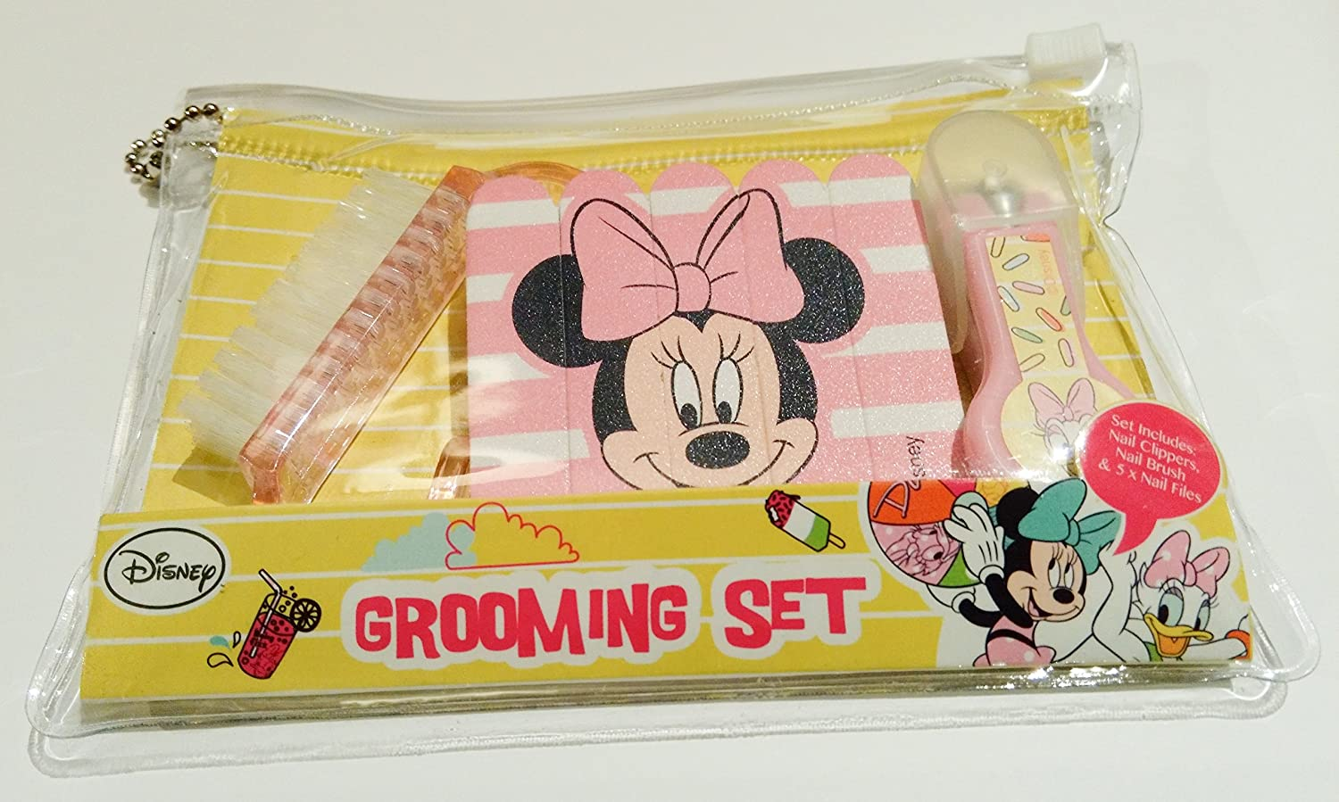 Disney Minnie Mouse Baby Nail Grooming Set - Nail Clippers , Nail Brush & Nail Files h&a