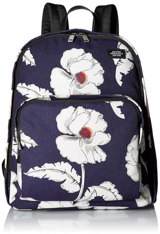 ジャックスペードMen 's PoppyフローラルBookpack One Size ネイビー B01NAQ1W8J