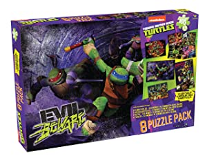 Nickelodeon Cardinal Teenage Mutant Ninja Turtles Puzzle (8 Piece)