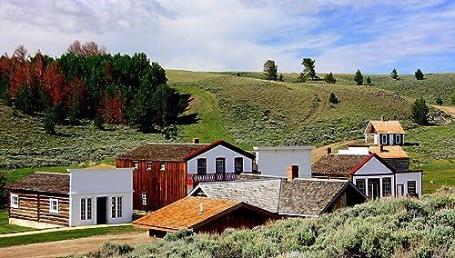 Amazon Com South Pass City Wyoming Landscape Fine Art Photography Print Handmade