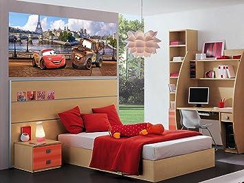AG Design FTDh 0603 Cars Disney Paris, Papier Fototapete Kinderzimmer    202x90 Cm   1