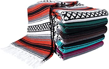 Amazon.com: Heavyweight Premium Yoga Blanket Throw Blanket ...