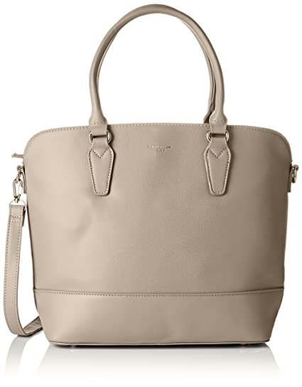 b8fad6e4a1 Buy David Jones Women's 5608A-2 Top-Handle Bag Grey - Grey 5608A-2 Online  at Low Prices in India - Amazon.in