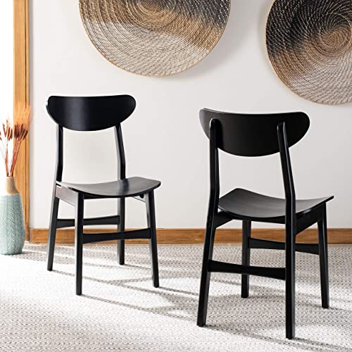 Safavieh Home Lucca Retro Black Dining Chair