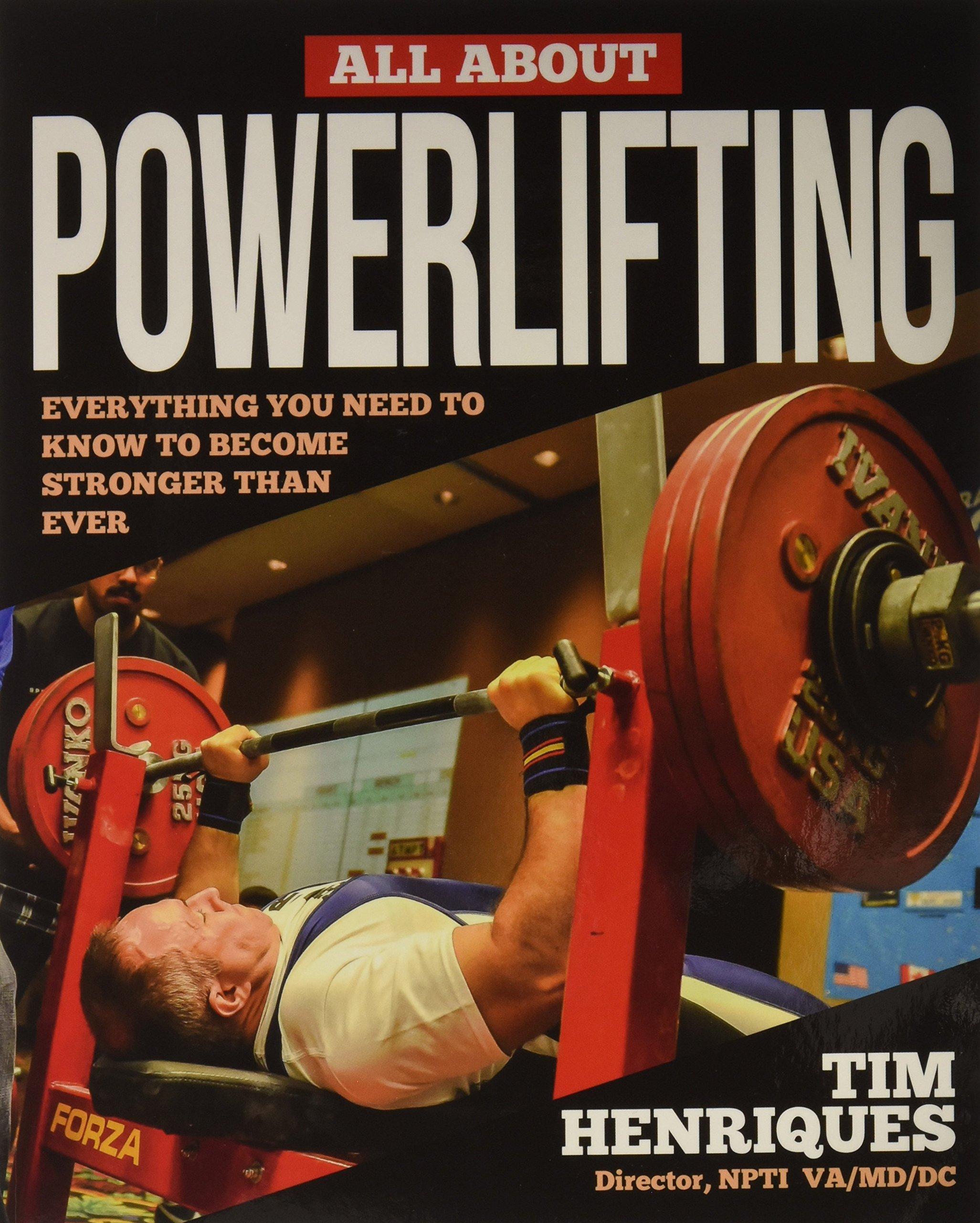 Henriques Tim Amazon itAll Powerlifting Libri About XlOZiuTPkw