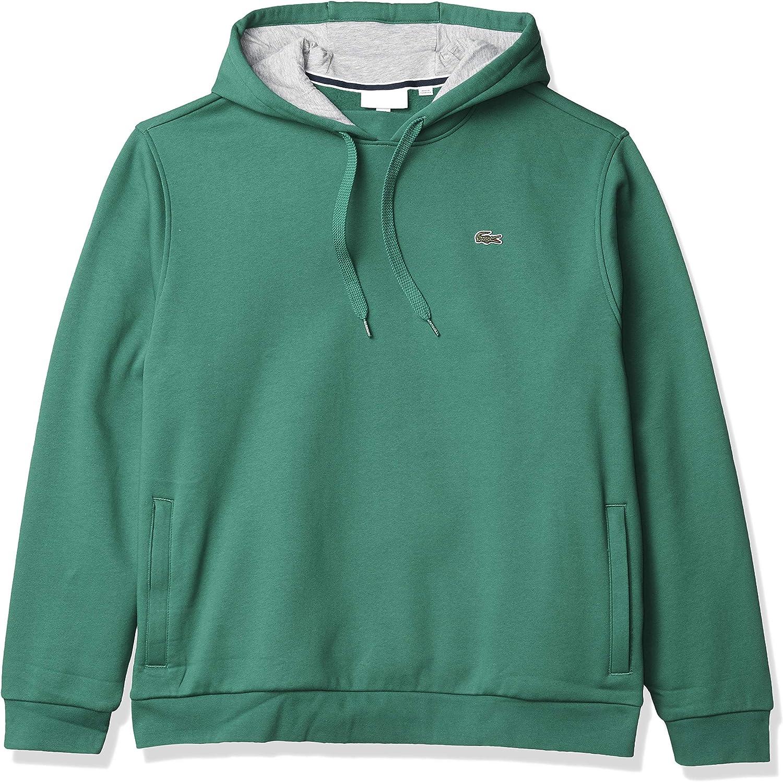 Lacoste Mens Sport Hooded Fleece Sweatshirt Hooded Sweatshirt