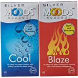 Moods Silver Condoms - 12 Count (Cool)