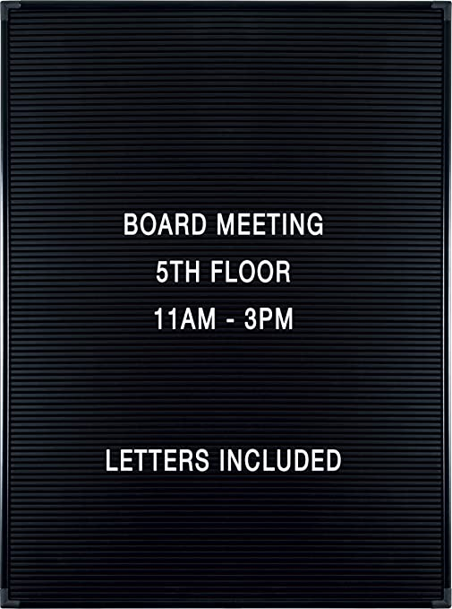 Amazon.: Balt Essentials Black Letter Board with Letters 18