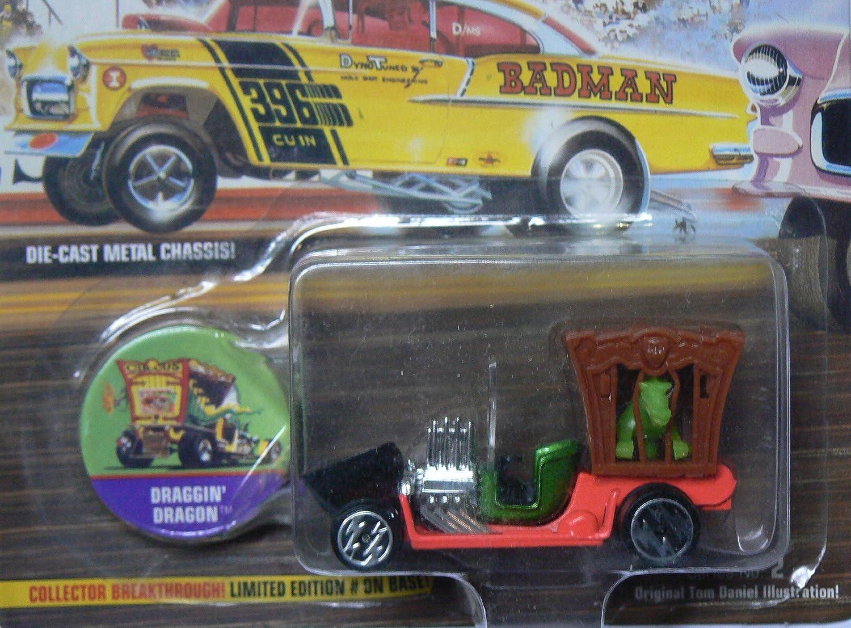 Series 2 Limited Edition Draggin Dragon Replica Playing Mantis 301-02 Wacky Winners Johnny Lightning