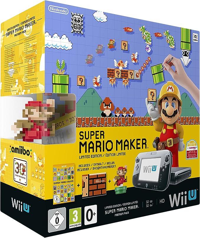 Nintendo Wii U + Super Mario Maker + amiibo - videoconsolas (Wii U ...