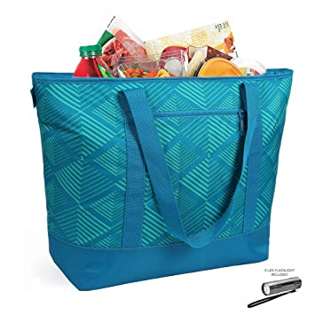 12 Gallon Insulated Mega Tote Azul bolsa para el transporte ...