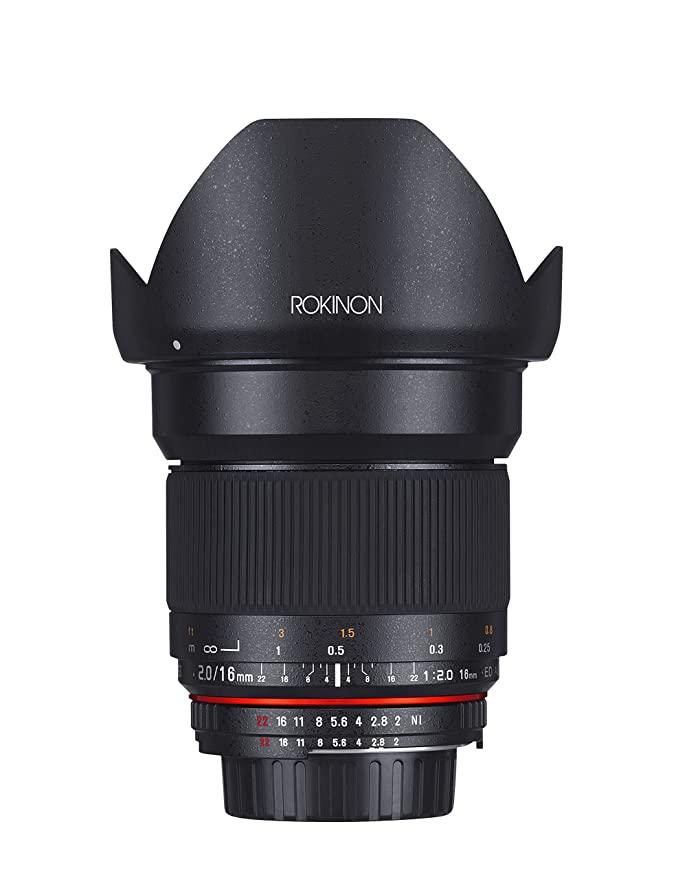 Review Rokinon 16MAF-N 16mm f/2.0