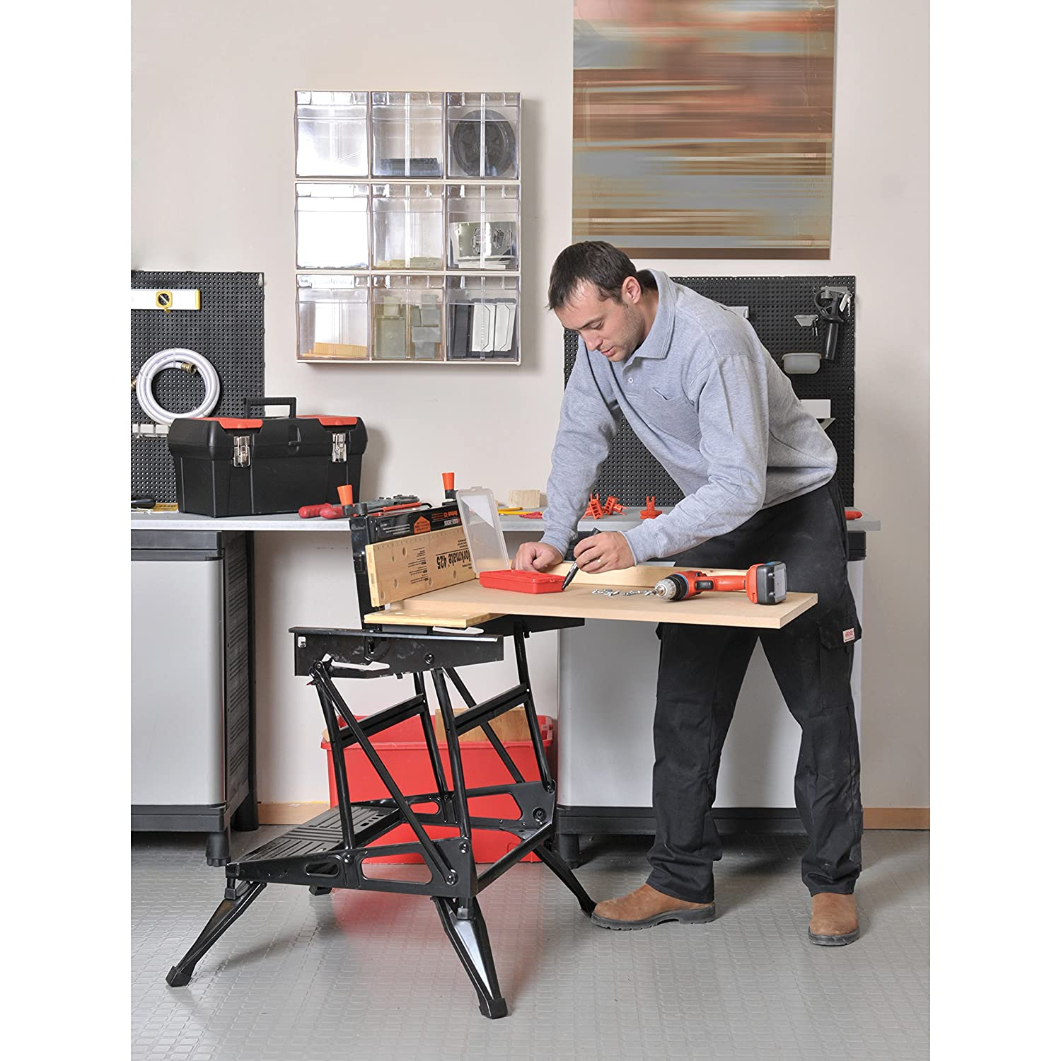 Black and decker workmate 1000 review - Black Decker Wm425 Workmate 425 550 Pound Capacity Portable Work Bench Amazon Ca Tools Home Improvement