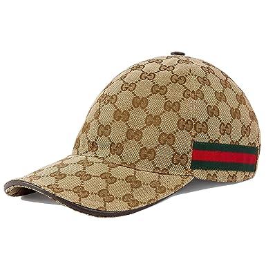 a346e675044  グッチ  GUCCI キャップ GG キャンバスベースボール 帽子 (M