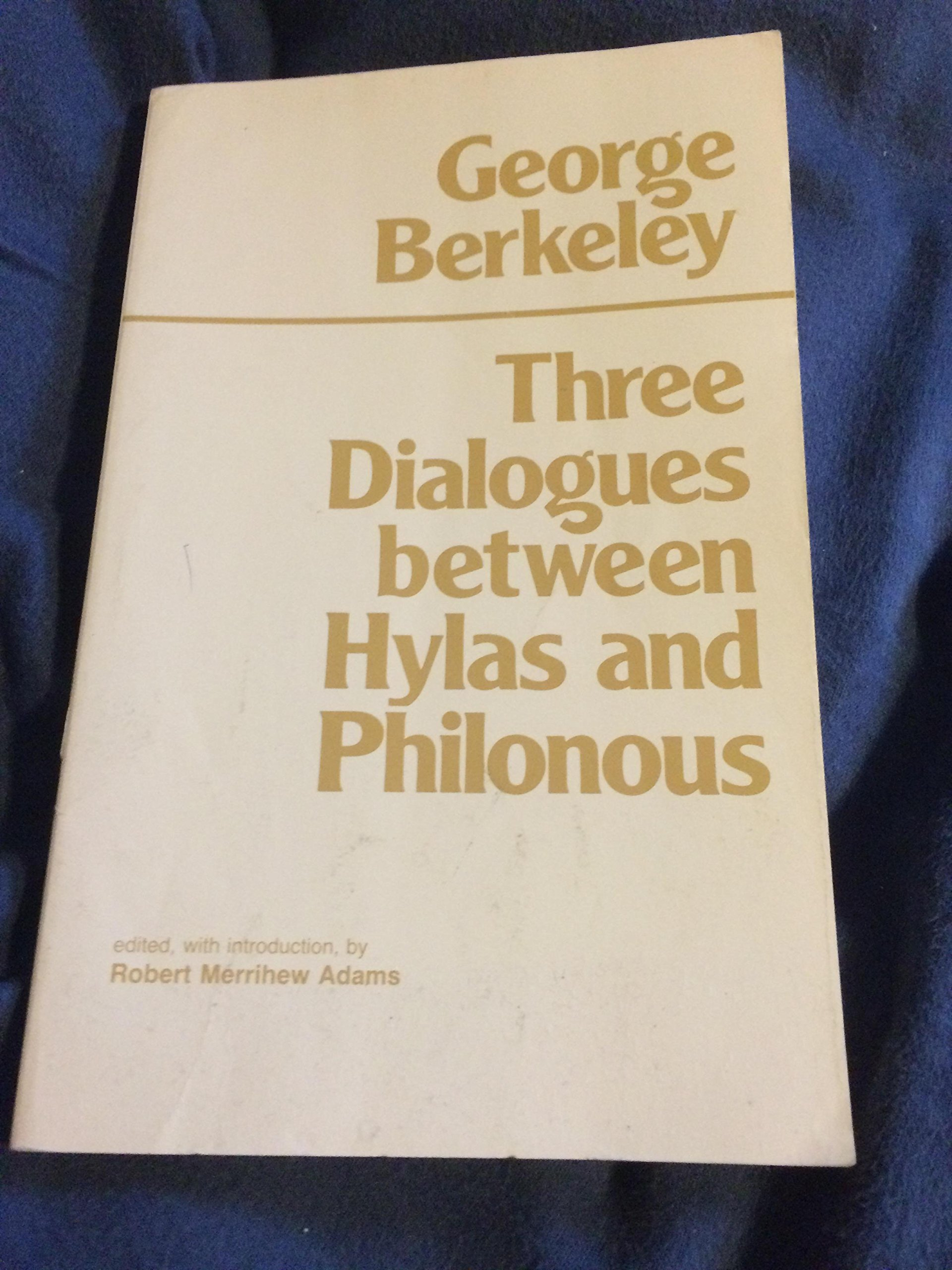 Read Online Three Dialogues Between Hylas And Philonous PDF