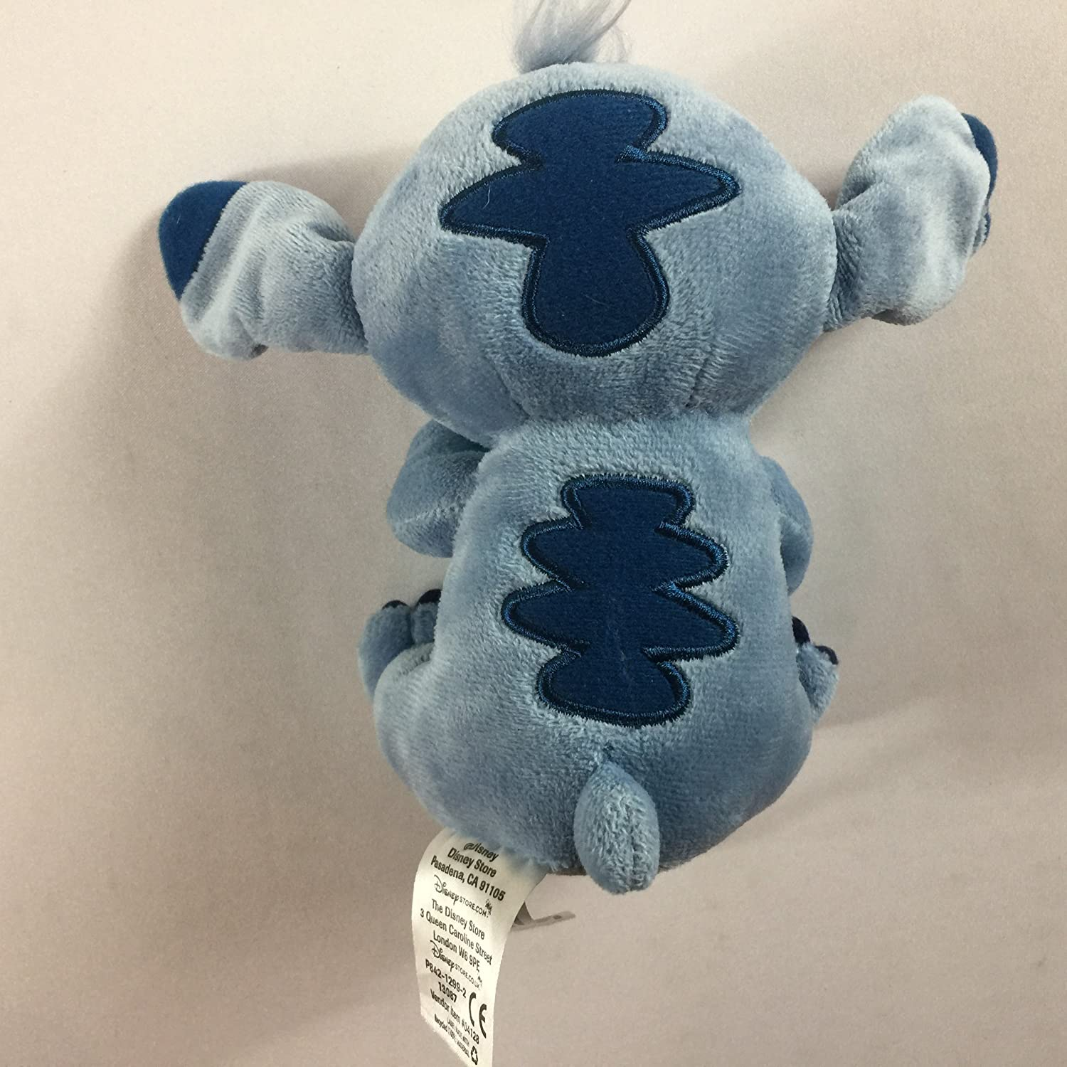 Amazon Com Dbs Disney Store Stitch Plush Small Stuffed 6 Toy Lilo Beans Alien Right Hand Heart Toys Games