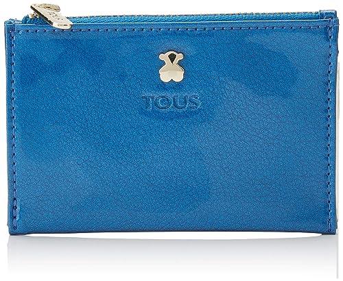 Tous 995960253, Monedero para Mujer, (Azul), 11.5x8x1 cm (W ...