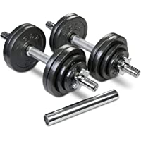 TELK Adjustable Dumbbells, 65, 105 to 200 lbs