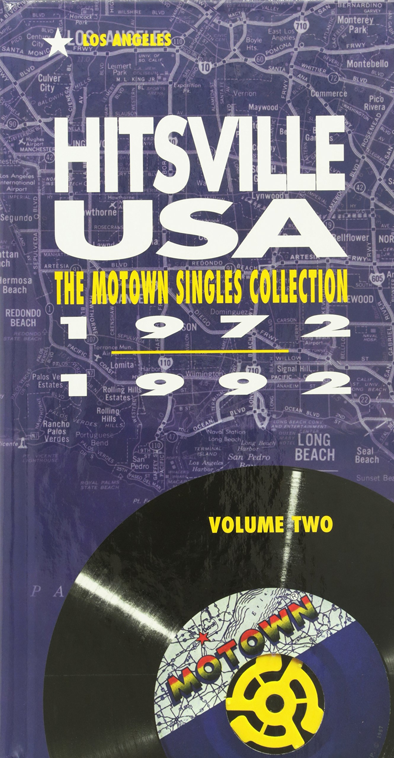 Hitsville USA, Vol. 2: The Motown Singles Collection 1972-1992 by Motown